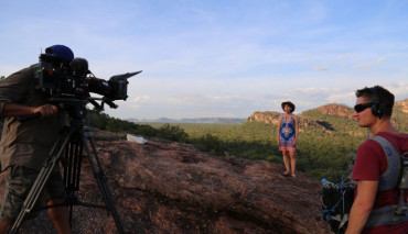 Kathy Lette and the Getaway Crew capture the Top End with Luke Paterson, who has  'The Best Job In the World'