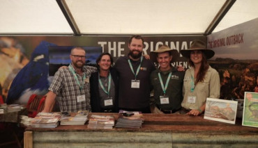 British Birdfair 'Come and say G'Day to Team NT' August 2015, 2016 and 2017, Rutland, UK
