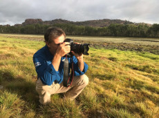Specialist bird & naturalist guide Luke Paterson from NT Bird Specialists