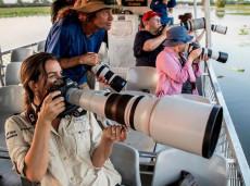 Private Canon Collective bird photography cruises with NT Bird Specialists team