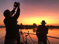 Sunrise photography shoot at Yellow Water Billabong