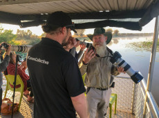 Professional tuition from Canon Ambassador Jay Collier on our Corroboree Billabong photography cruise
